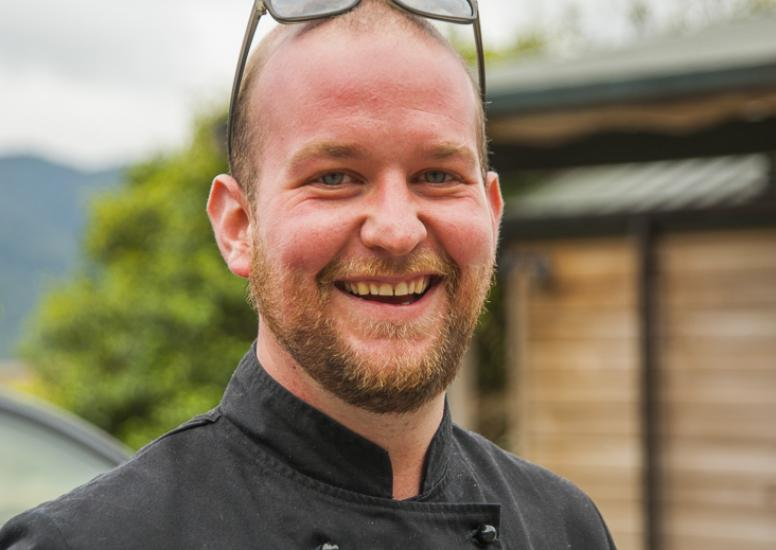Steven Paterson Head Chef Poronui