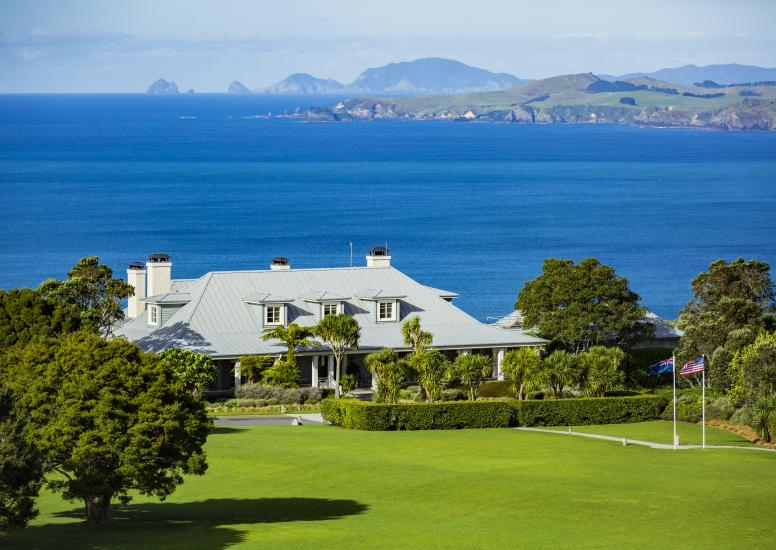 The Lodge at Kauri Cliffs Day