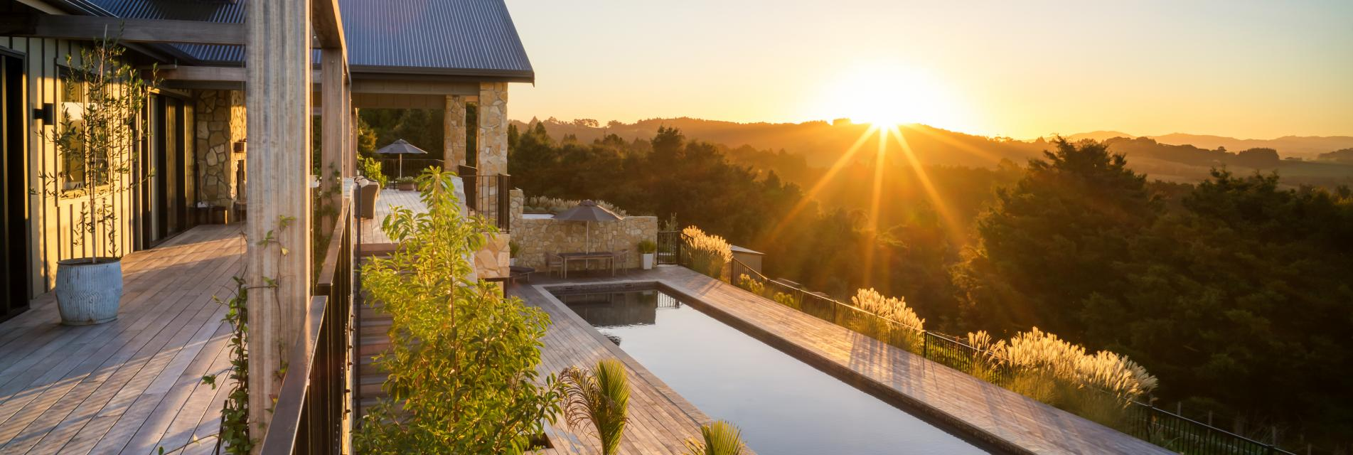 Te Arai Lodge Sunset curtissimmons